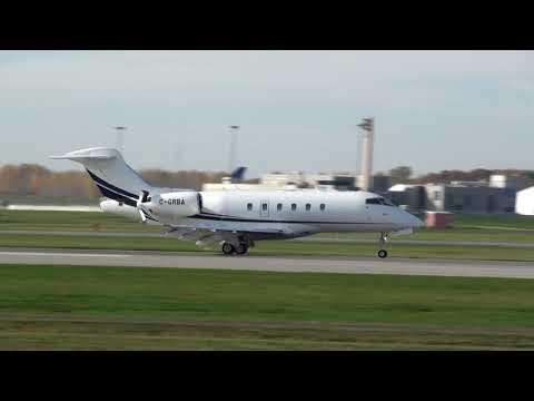 Skyservice Bombardier BD-100-1A10 (C-GRBA) Landing 06R Montreal YUL | CYUL
