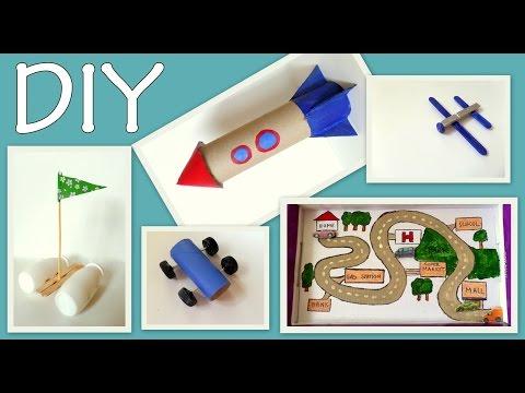 5-craft-ideas-for-kids-(-boys-edition)--diy--fun-and-easy-|-by-fluffy-hedgehog