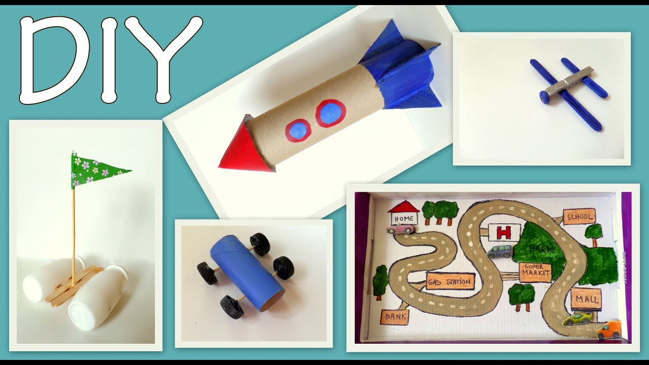 5 Craft Ideas For Kids Boys Edition DIY Fun And Easy