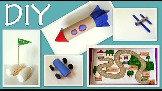 5 Craft Ideas for Kids ( Boys Edition) -DIY- Fun and Easy | by Fluffy Hedgehog