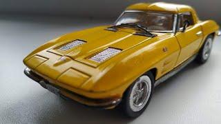 Обзор моделей автомобилей № 1 Chevrolet Corvette Sting Ray 1963