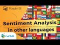 Sentiment Analysis in other Langugages with Power BI Desktop