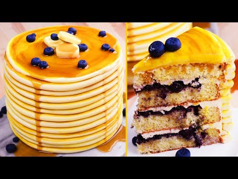 Trick Recipes | PAN CAKES | Cake Hacks | Easy DIY Recipes by So Yummy
