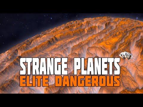 Elite Dangerous Disy  The Freakiest Worlds