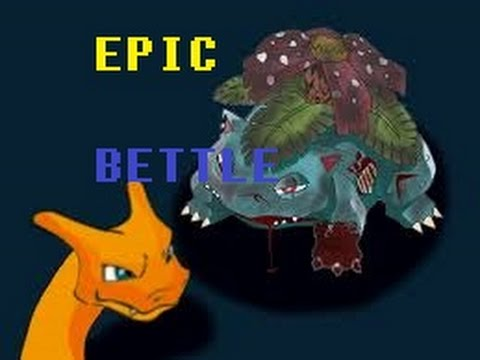 Pokemon Showdown 161 Epic Battle Charizard Vs Venusaur Chava Core Youtube