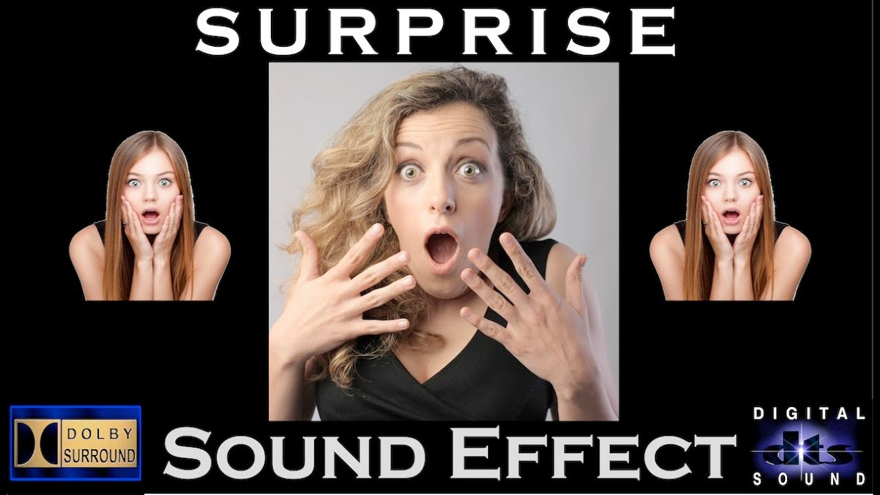 sound effects for surprise
