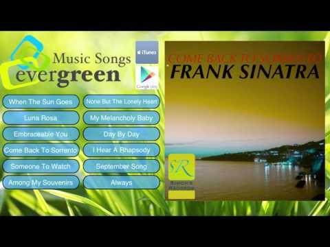 Frank Sinatra   Come Back To Sorrento Remastered Full Album