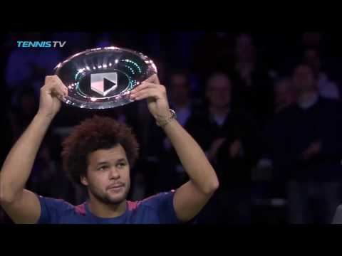 Tsonga Rallies For Rotterdam 2017 Title