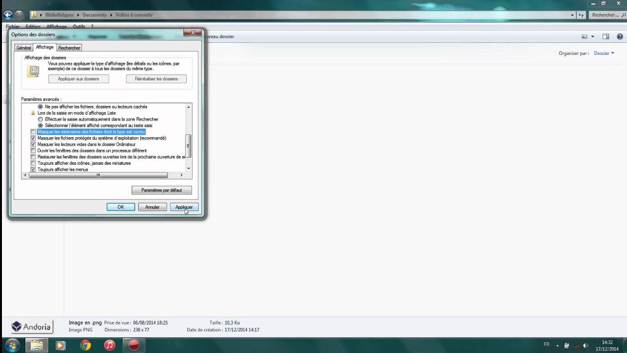 Tutoriel Comment Modifier L Extension D Un Fichier Windows