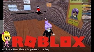 Manager Work at a Pizza Place | Employee of the Day - Roblox