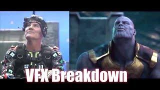 AVENGERS: INFINITY WAR VFX  breakdown | Thanos Tortures Nebula  [HD] Josh Brolin, Zoe Saldana