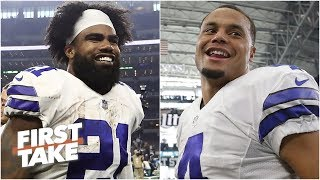 Will Cain would pay Zeke, Dak and Amari everything they deserve | First Take