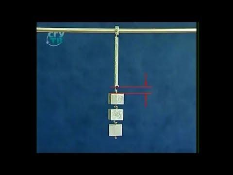 Как найти амплитуду пружинного маятника