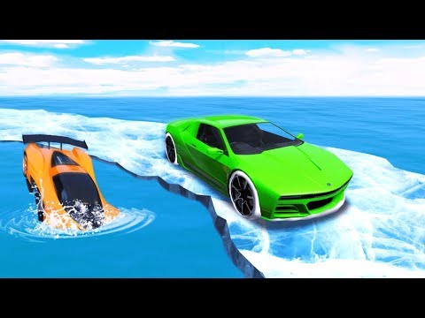 CAN YOU SURVIVE THE ICE RACE? (Very Hard)