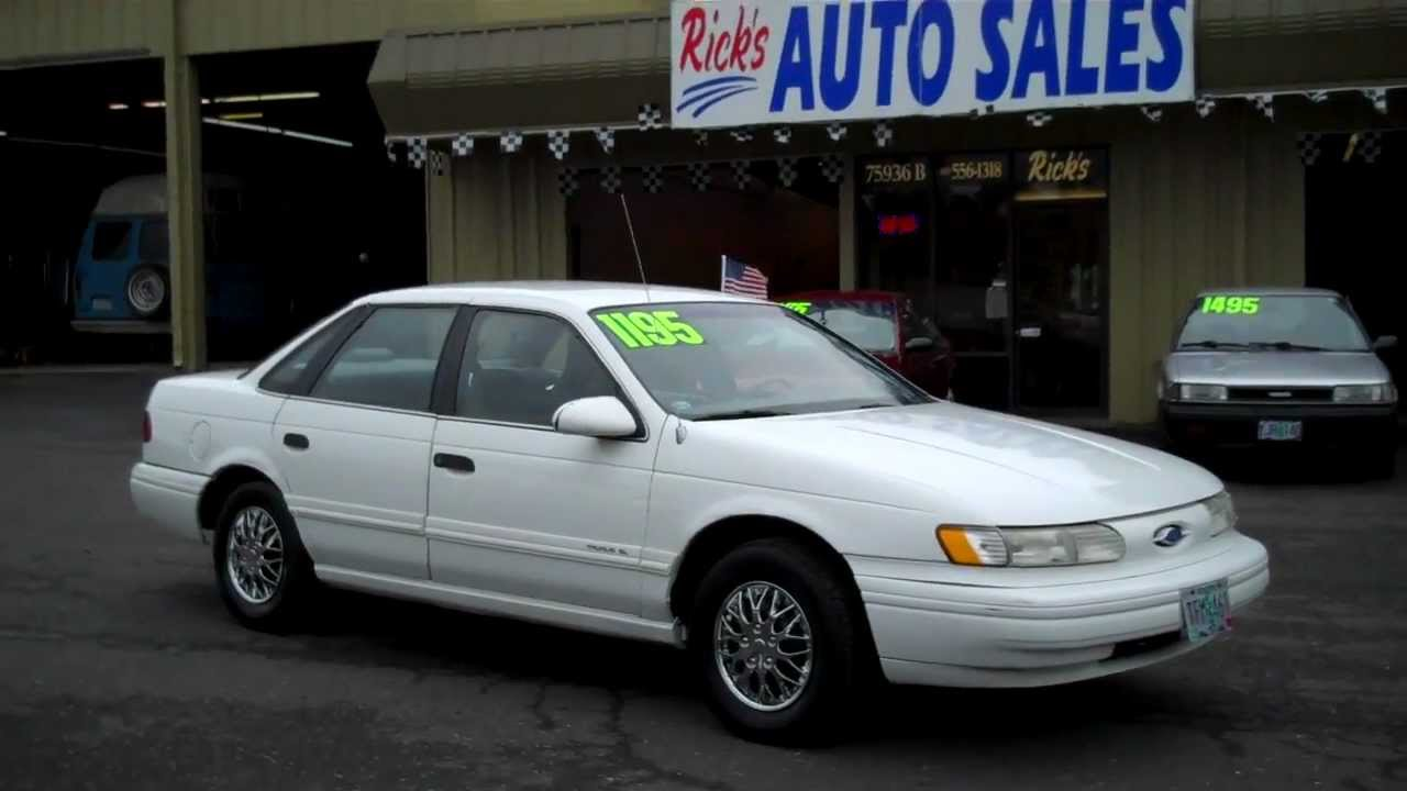 1993 ford taurus sold