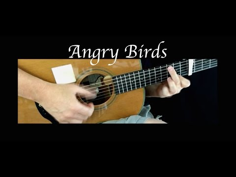 Angry Birds Theme - Fingerstyle Guitar
