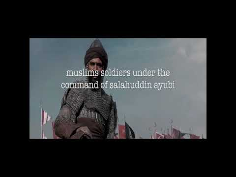 Ya Jundullah nasheed(Oh soldiers of Allah) - Salahuddin-al-Ayubi - The conquest of . mp4