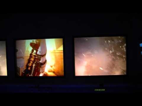 "Kennedy Space Center Kino ""Raketenstart"""