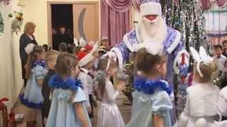 Дед Мороз и Снегурочка, новогодний утренник в Казани