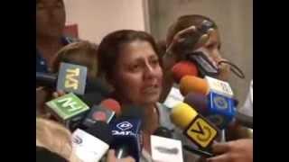 HABLA MADRE DE ESTUDIANTE HERIDO