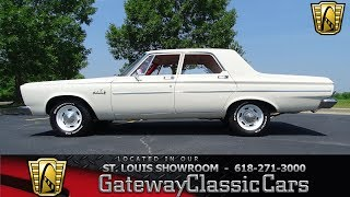 1965 Plymouth Belvedere Stock #7387 Gateway Classic Cars St. Louis Showroom