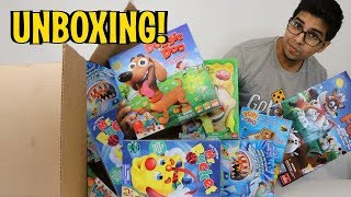 UNBOXING The Goliath / Pressman Games Influencer Box -  Special Exclusive Gift  - 2017
