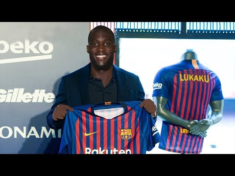 Romelu Lukaku Welcome To Barcelona? Confirmed Summer Transfers 2018 ft.  Lukaku, Arturo Vidal