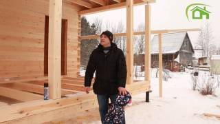 массив Пупышево отзыв заказчика о деревянном доме ||| СК Дачник