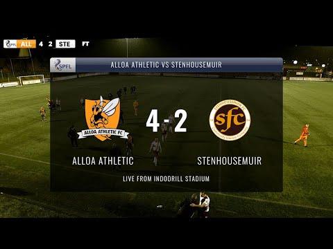 Alloa Stenhousemuir Goals And Highlights