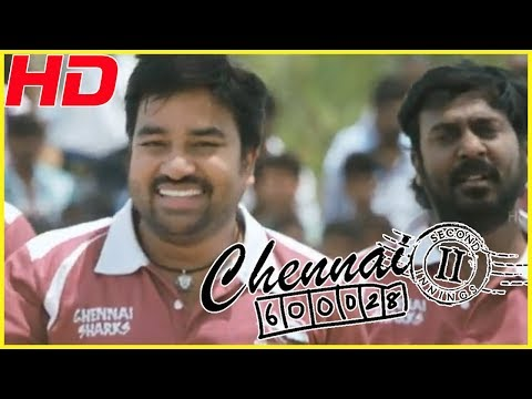 Chennai sharks team plays cricket with Usilampatti Bad Boys | Nithin sathya's emotional speech