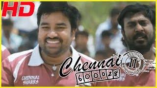 Chennai sharks team plays cricket with Usilampatti Bad Boys | Nithin sathya's emotional speech