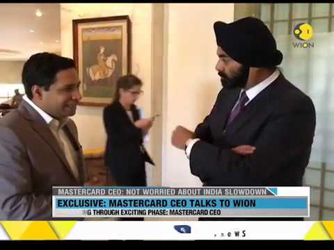 WION Wallet: Exclusive conversation with Mastercard CEO Ajaypal Singh Banga