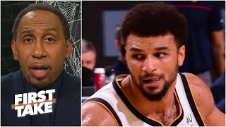 Stephen A. reacts to Jamal Murray's torn ACL | First Take