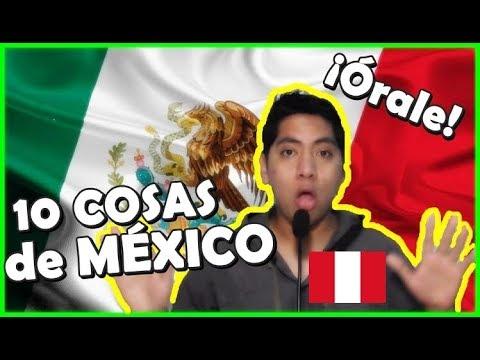 10 cosas ASOMBROSAS de MÉXICO por un Peruano | Peruvian Life