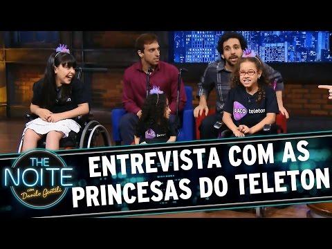 The Noite (22/10/15) - Entrevista Com As Princesinhas Do Teleton