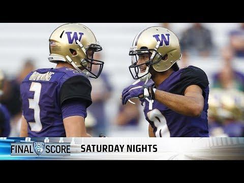 Recap: Dante Pettis' record night lifts Washington football over Fresno State