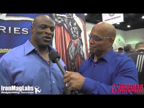 LA FitExpo 2015 | Shawn Ray interviews Ronnie Coleman