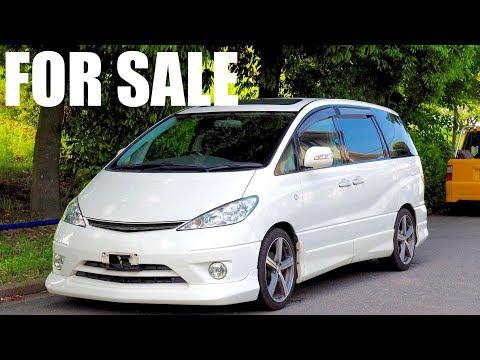 SOLD - 2001 Toyota Estima JDM Minivan