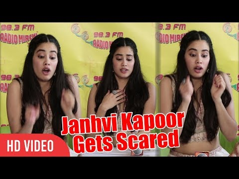 OMG - Why Janhvi Kapoor Gets Scared | Zingaat Hindi Song Launch