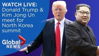 WATCH LIVE: Donald Trump and Kim Jong Un summit in Singapore thumbnail
