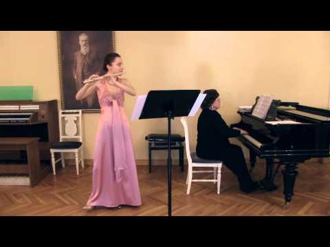 Frederic Chopin. Variations on a Theme of Rossini for Flute and Piano in E major, B.9