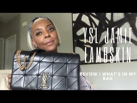 REVIEW | YSL JAMIE LAMBSKIN BAG