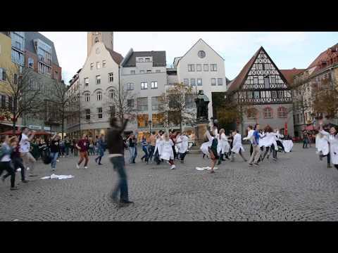 Flashmob Mediziner Uni Jena 2014