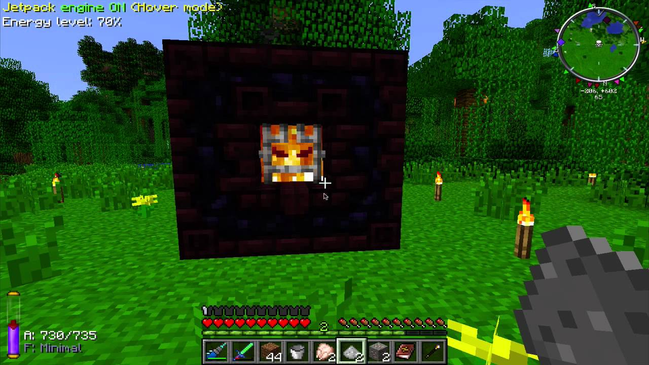 Thaumcraft and Technology 9 - The Infernal Furnace - YouTube