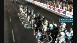 Pro cycling manager 2010 - sprint gameplay HD