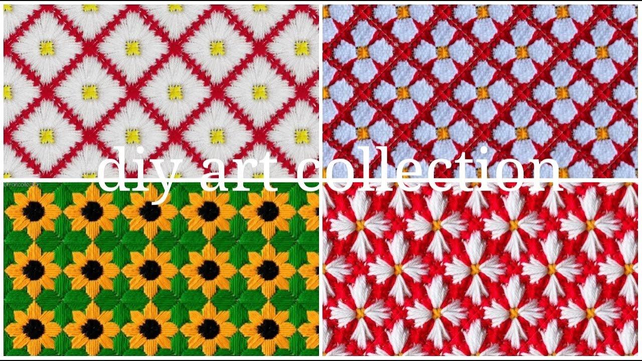 Most popular ason design from my galleries/ ফুলের নকশা আসন সেলাই ডিজাইন/ason selai design/আসন ডিজাইন