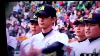 第88回選抜高校野球!青森山田入場行進! 柳田将利 検索動画 20