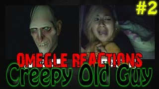 Creepy Old Guy Scare Prank on Omegle #2 [Omegle Reactions]