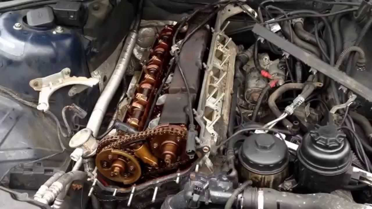 Bmw M54 M52tu M56 Cylinder Head Removal Youtube