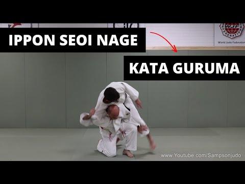 How to do Ippon Seoi Nage into Kata Guruma